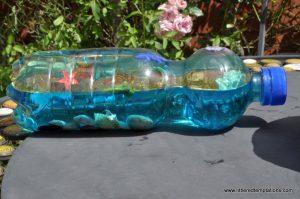Ozean in der Flasche