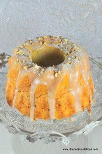 Orangengugelhupf mit Mascarpone